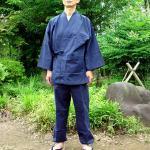 刺子織オリジナル作務衣